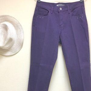 LEVI'S 505 Purple Straight Leg Size 8M - W29 L32